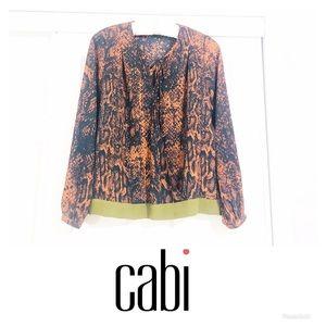 Cabi Snake Print Wrap Blouse | Top | Shirt 🌸
